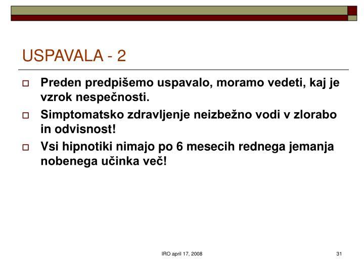 USPAVALA - 2