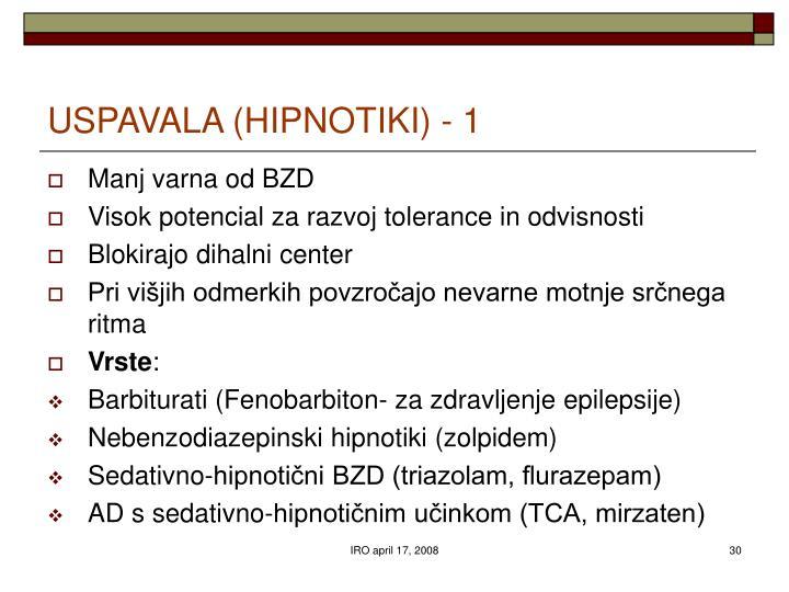 USPAVALA (HIPNOTIKI) - 1