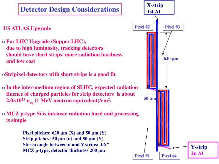Detector Design Considerations
