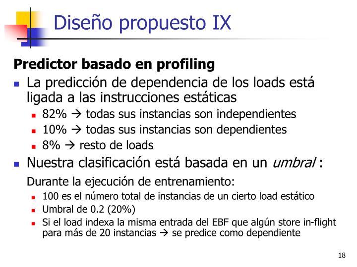 Diseño propuesto IX