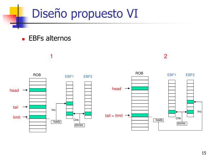 Diseño propuesto VI