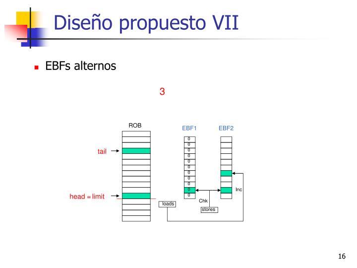 Diseño propuesto VII