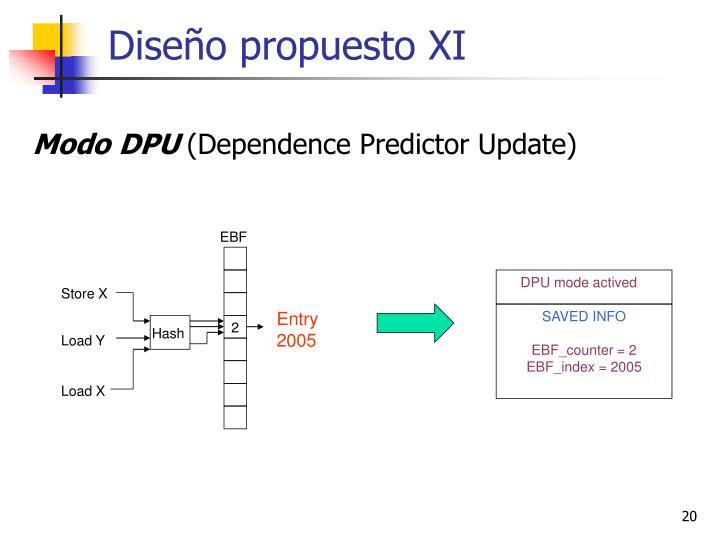 Diseño propuesto XI