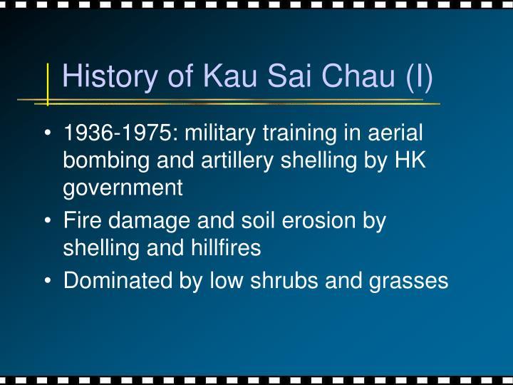 History of Kau Sai Chau (I)