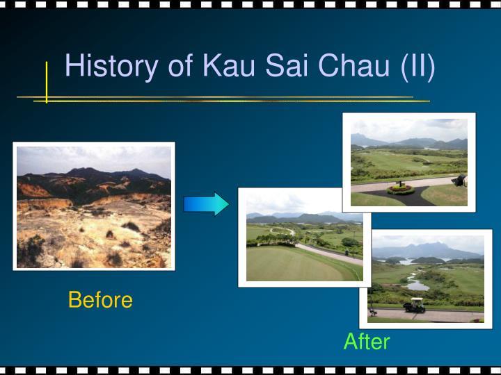 History of Kau Sai Chau (II)