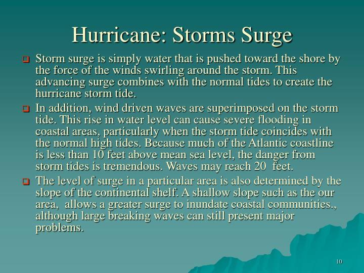 Hurricane: Storms Surge
