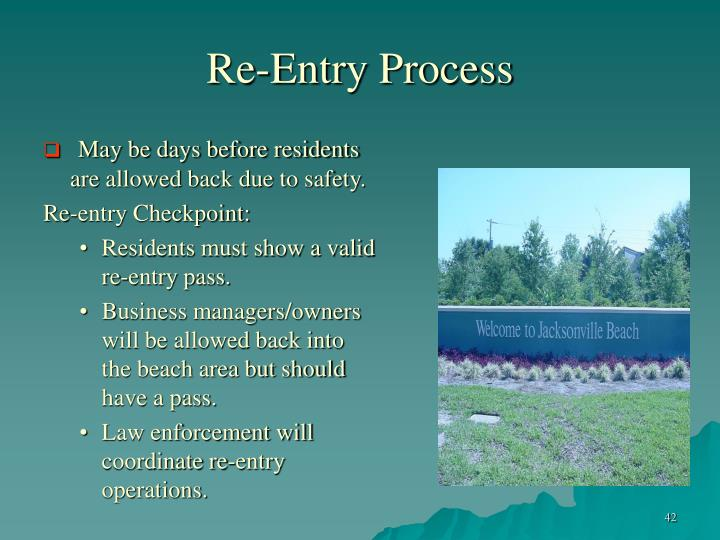 Re-Entry Process