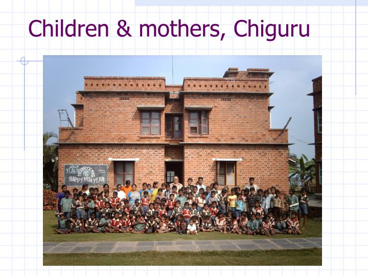 Children & mothers, Chiguru