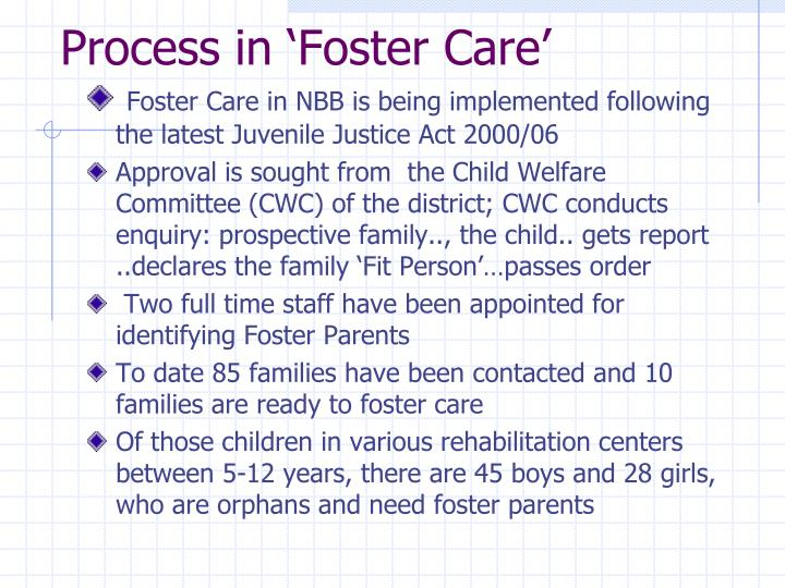Process in 'Foster Care'