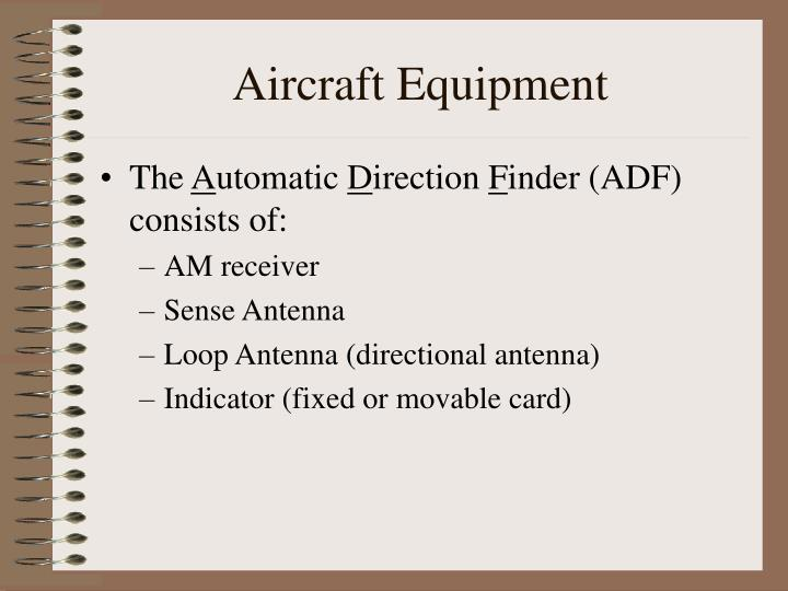 Aircraft Equipment