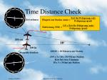 time distance check