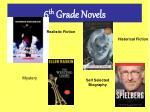 6 th grade novels