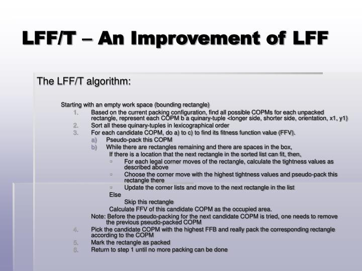 LFF/T