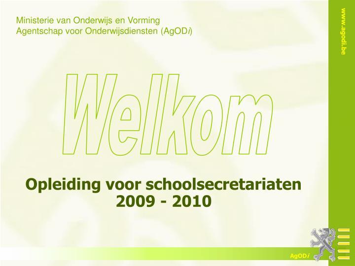 Opleiding voor schoolsecretariaten