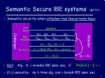semantic secure ibe systems bf 01