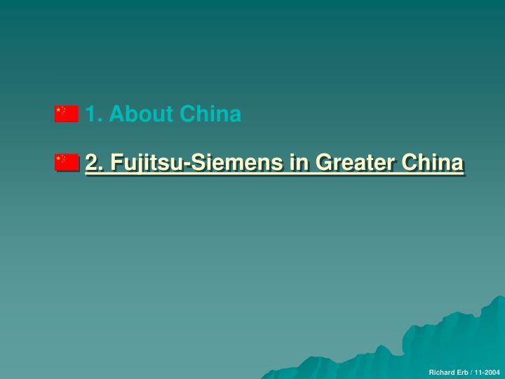 1. About China
