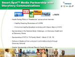 smart spot media partnership with discovery communications