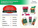 tropicana fruit integrity nothing but fruit