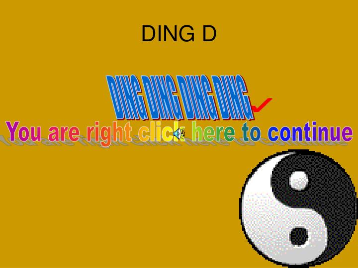 DING D