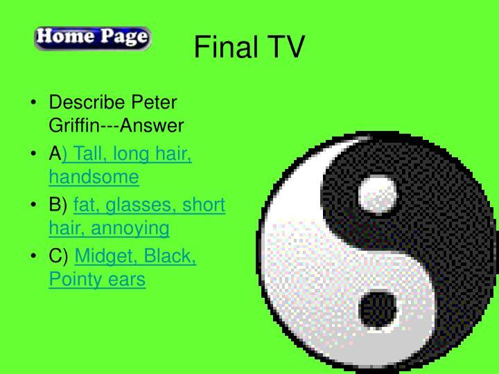 Final TV