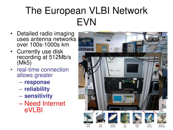 The European VLBI Network