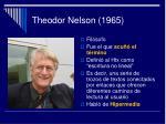 theodor nelson 1965