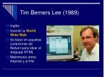 tim berners lee 1989