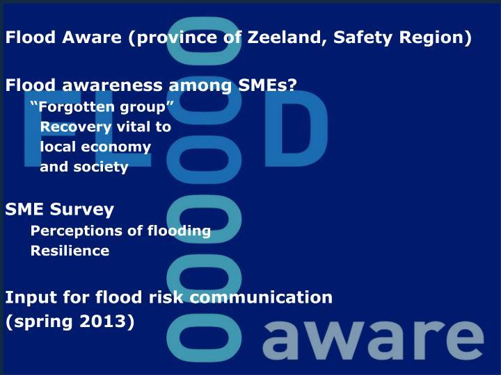 Flood Aware (province of Zeeland, Safety Region)