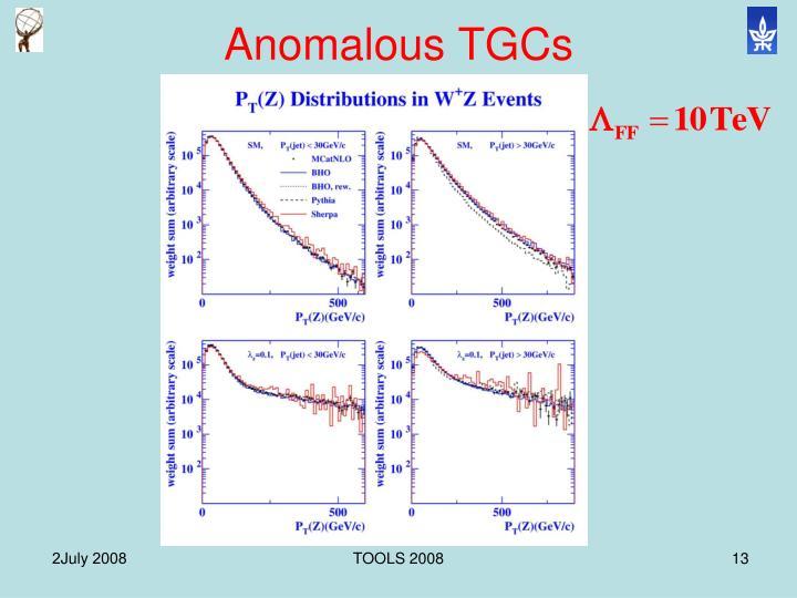 Anomalous TGCs