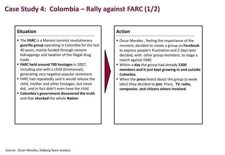 Case Study 4:  Colombia
