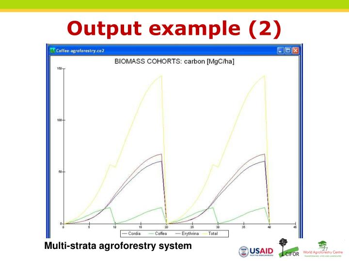 Output example (2)