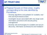 af trust gnc