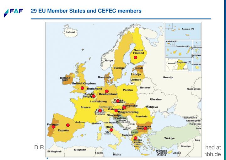 29 EU Member States and CEFEC members