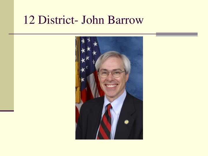 12 District- John Barrow
