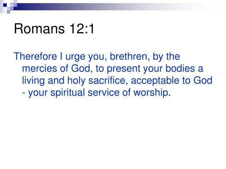 Romans 12:1