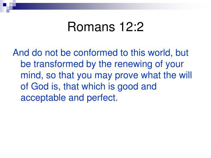 Romans 12:2