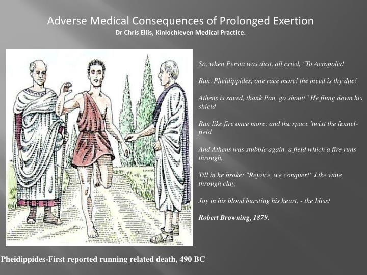 Adverse Medical Consequences of Prolonged Exertion