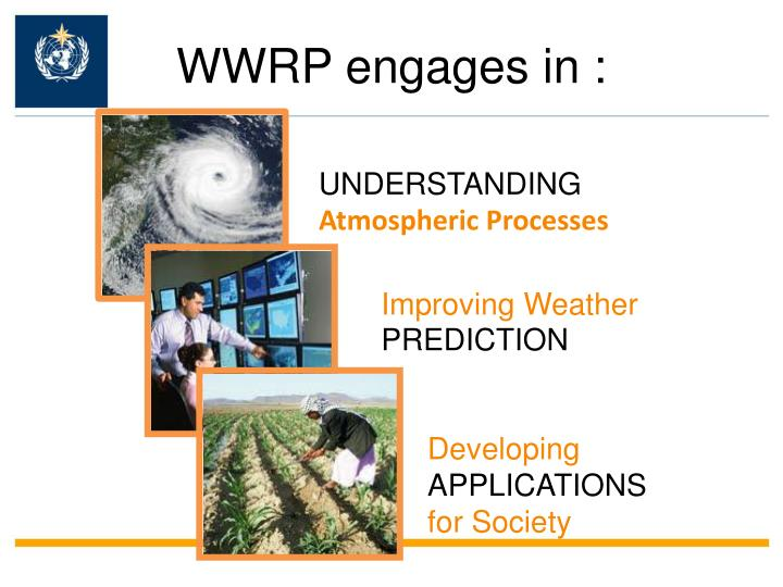 Wwrp engages in