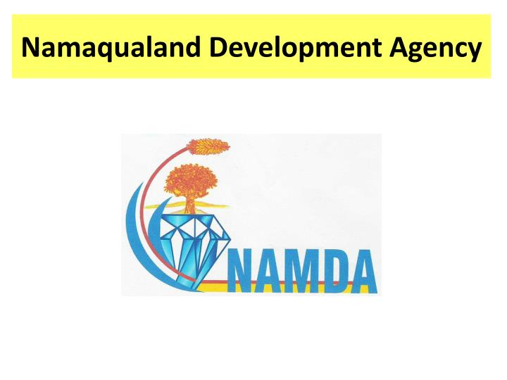 Namaqualand development agency