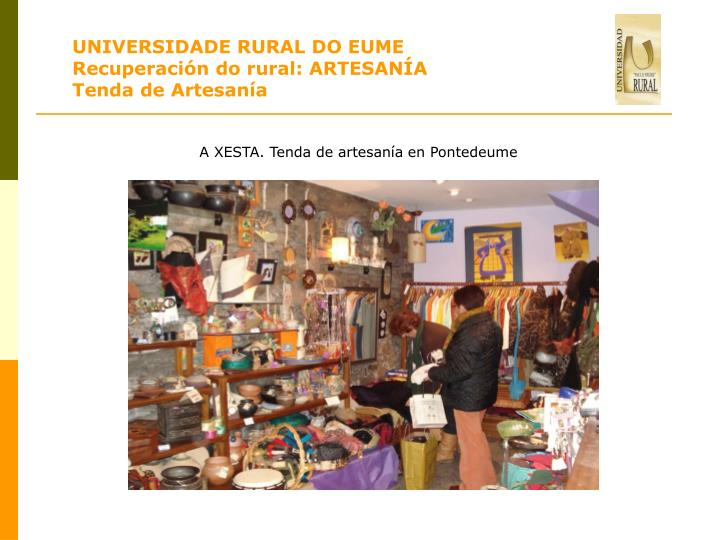 UNIVERSIDADE RURAL DO EUME