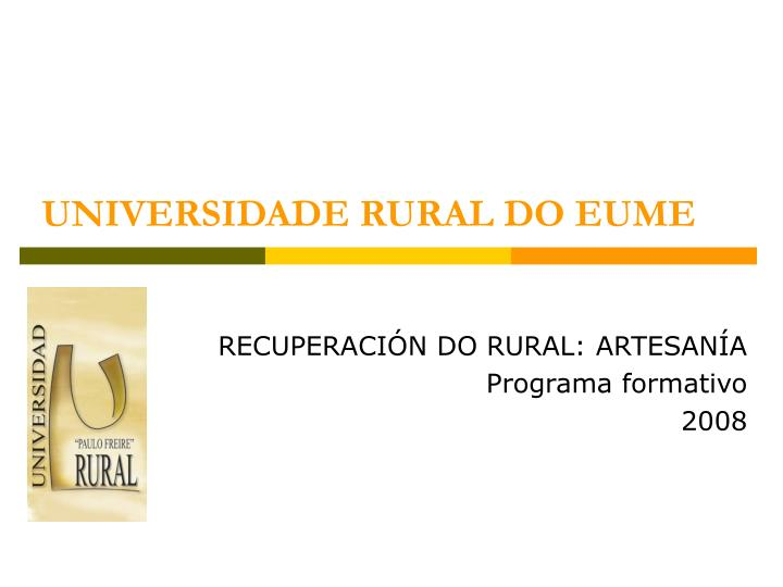 Universidade rural do eume1