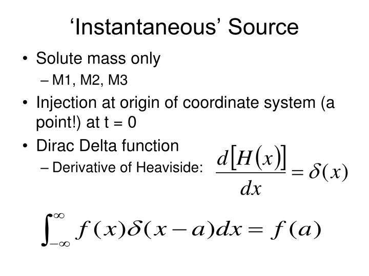 'Instantaneous' Source