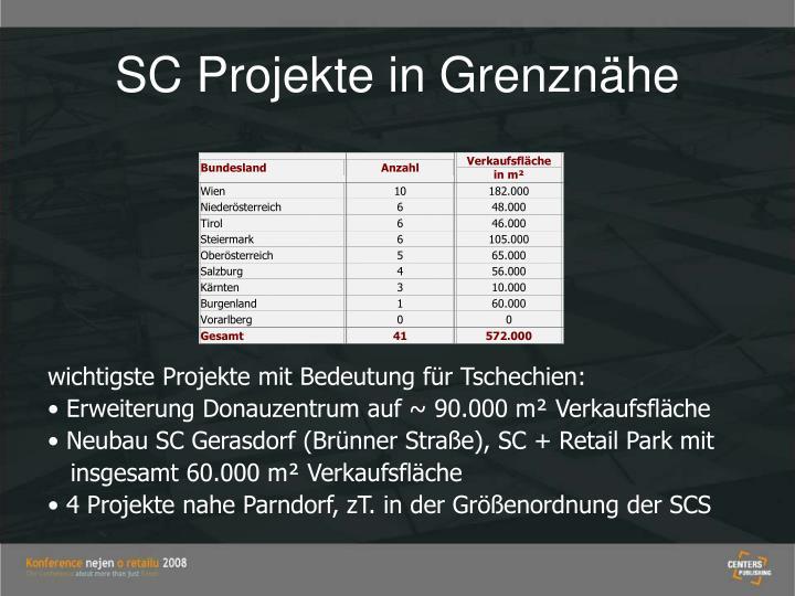 SC Projekte in Grenznähe