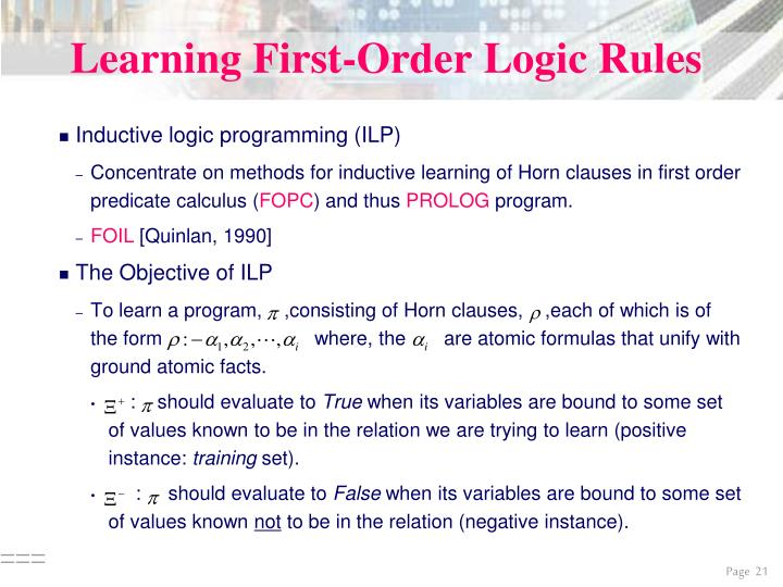Learning First-Order Logic Rules