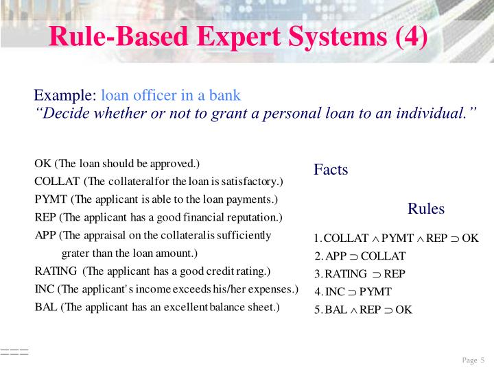 Rule-Based Expert Systems (4)