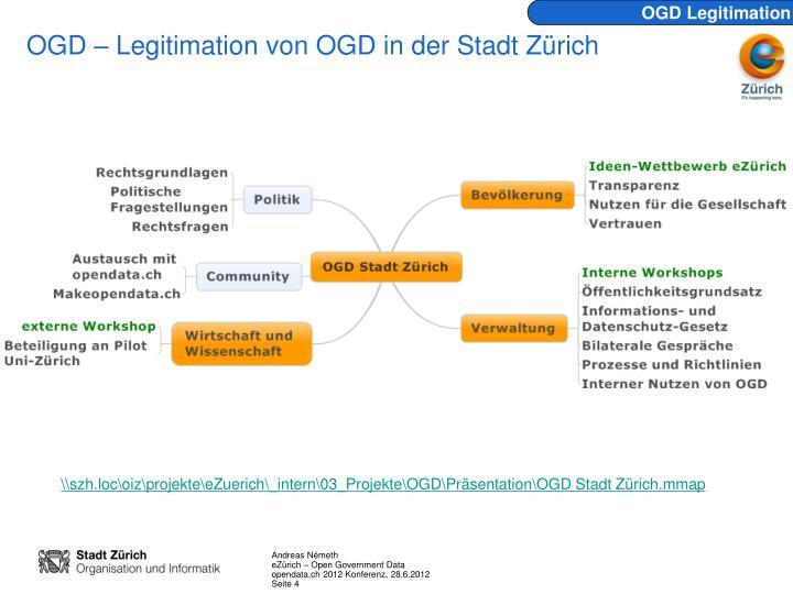 OGD Legitimation