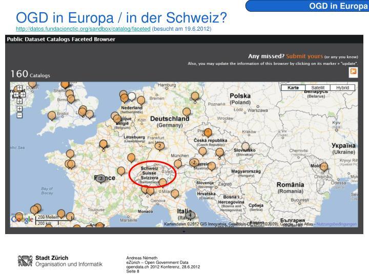OGD in Europa