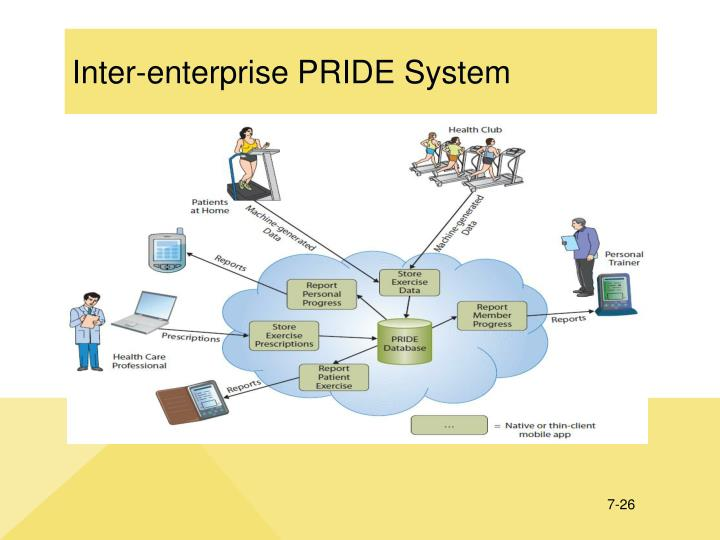 Inter-enterprise PRIDE System
