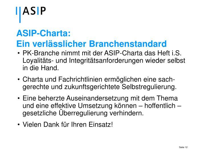 ASIP-Charta: