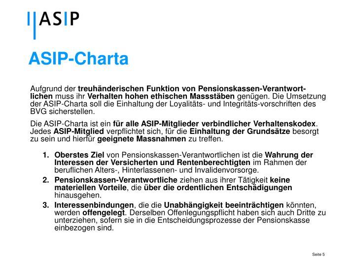 ASIP-Charta